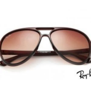 RayBans RB4125 Cats 5000 Brown Sunglasses
